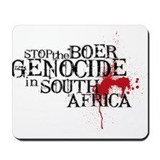 South Africa Genocide Mousepad
