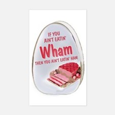 Wham Ham Rectangle Decal
