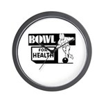 Bowl for Health Wall Clock
