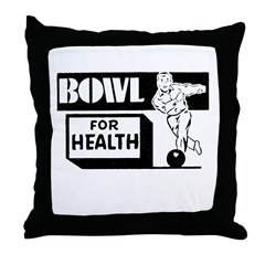 Bowl for Health Throw Pillow