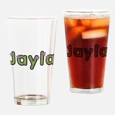 Jayla Spring Green Drinking Glass