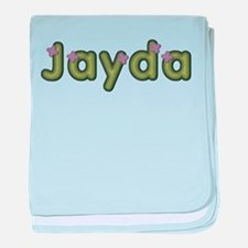 Jayda Spring Green baby blanket