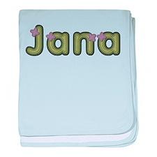 Jana Spring Green baby blanket