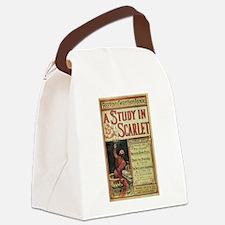 sherlock holmes Canvas Lunch Bag