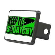 Keep it Squatchy green Hitch Cover