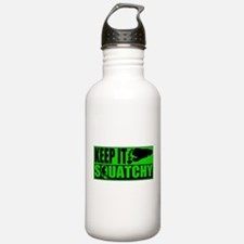 Keep it Squatchy green Water Bottle