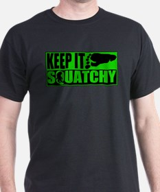 Keep it Squatchy green T-Shirt