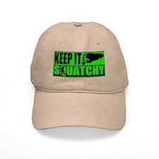 Keep it Squatchy green Baseball Cap