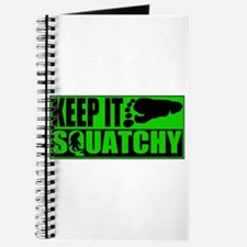 Keep it Squatchy green Journal