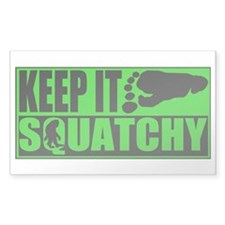 Keep it Squatchy green Decal