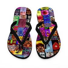 Flip Flops Color Photo Collage
