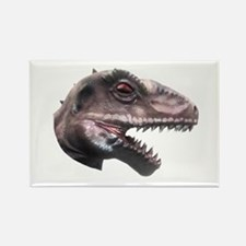 T-Rex Head Rectangle Magnet