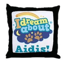 Cute Aidi Quote Throw Pillow