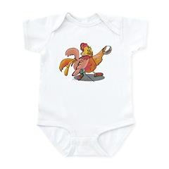 Fencing Rooster Infant Bodysuit