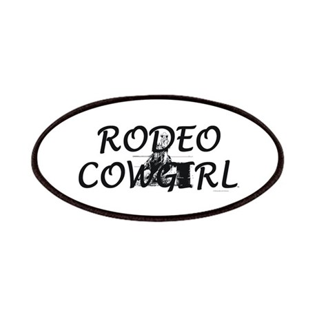 Rodeo Cowgirl Patch