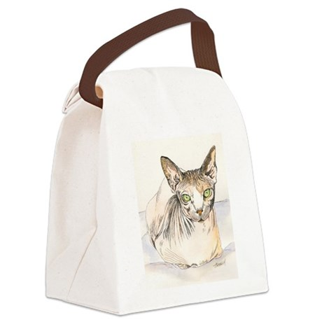 sphynx.png Canvas Lunch Bag