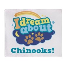 Cute Chinook Quote T-shirts Throw Blanket
