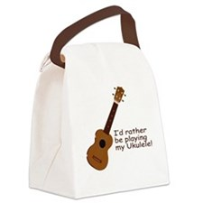 ukuleletshirt.png Canvas Lunch Bag