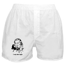 I only date ninjas Boxer Shorts