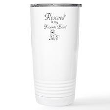 Rescued Dog Travel Mug