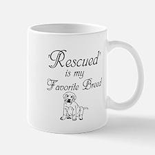 Rescued Dog Mug