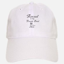 Rescued Dog Baseball Baseball Baseball Cap