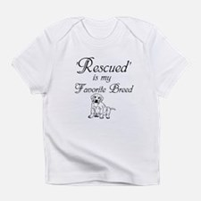 Rescued Dog Infant T-Shirt