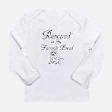 Rescued Dog Long Sleeve T-Shirt