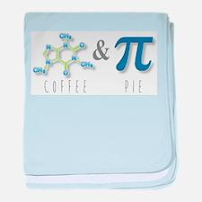 Coffee & Pie baby blanket