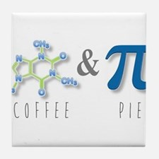 Coffee & Pie Tile Coaster