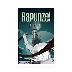 Sci Fi Rapunzel Rectangle Car Magnet