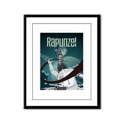 Sci Fi Rapunzel Framed Panel Print