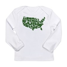 America: All Mixed Up Long Sleeve T-Shirt