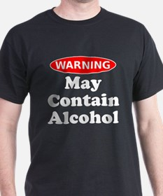 Warning May Contain Alcohol T-Shirt