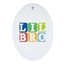 Lil' Bro Oval Ornament