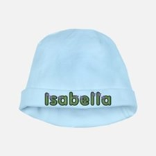 Isabella Spring Green baby hat