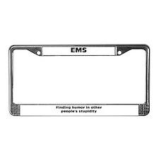 EMS License Plate Frame