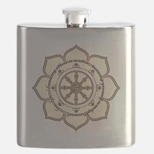 DharmaWheelLotusFlower-Quote.png Flask