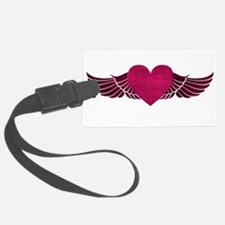 HeartWithWings.png Luggage Tag