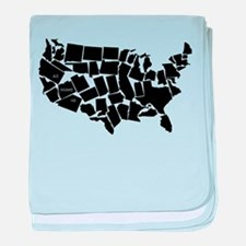 America: All Mixed Up baby blanket