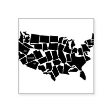 America: All Mixed Up Sticker