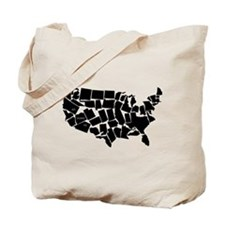 America: All Mixed Up Tote Bag