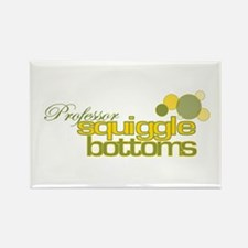 Squiggle Bottoms Rectangle Magnet