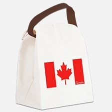 flag-canada.PNG Canvas Lunch Bag