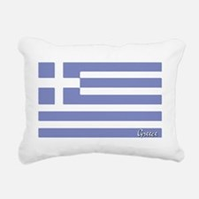 flag-greece.PNG Rectangular Canvas Pillow