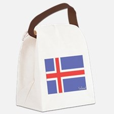 flag-iceland.PNG Canvas Lunch Bag