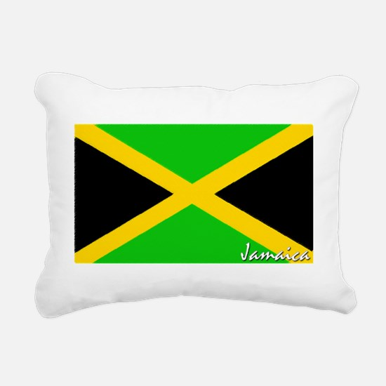 flag-jamaica.PNG Rectangular Canvas Pillow