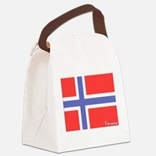 flag-norway.PNG Canvas Lunch Bag