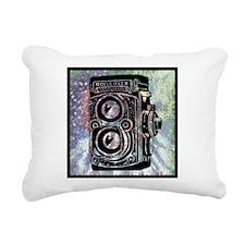 art-camera.png Rectangular Canvas Pillow