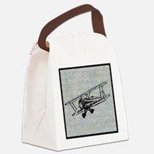 art-airplane.png Canvas Lunch Bag